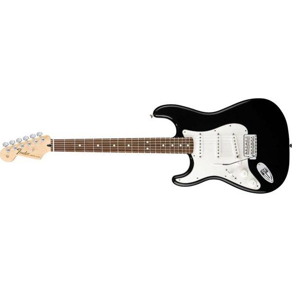 Fender Standard Stratocaster Left-Handed, Rosewood Fingerboard, Black