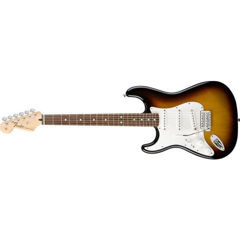 Standard Stratocaster Left-Handed, Rosewood Fingerboard, Brown Sunburst