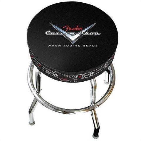 "Fender 24"" Custom Shop Pinstripe Barstool"