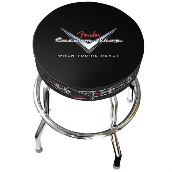 """Fender Fender 24"""" Custom Shop Pinstripe Barstool"""