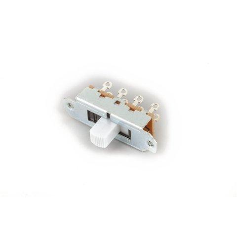 Fender 3 Position Mustang Slide Switch White 323 4/40