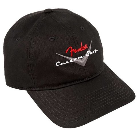 Fender Custom Shop Baseball Hat, Black, One Size