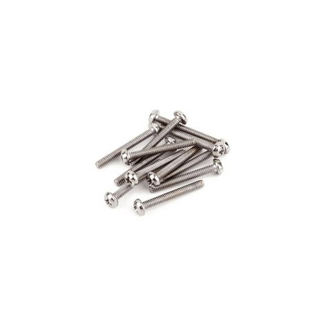 "Humbucking Pickup Mounting Screws, Machine #3-48 x 13/16"" Philips (12)"