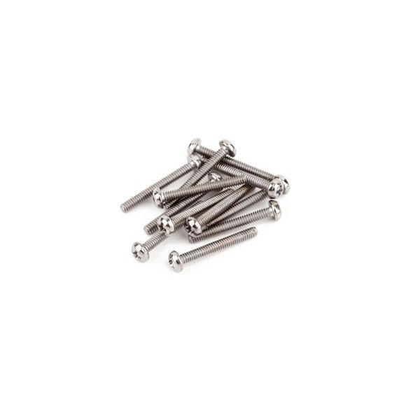 "Fender Humbucking Pickup Mounting Screws, Machine #3-48 x 13/16"" Philips (12)"