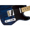 Limited Edition Sandblasted Telecaster Ash Maple Sapphire Blue Transparent