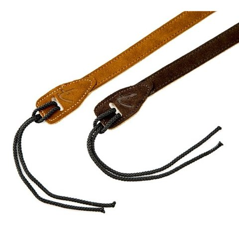 Mandolin Strap, Brown Suede