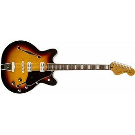 Fender Coronado Guitar, Rosewood Fingerboard, 3-Color Sunburst