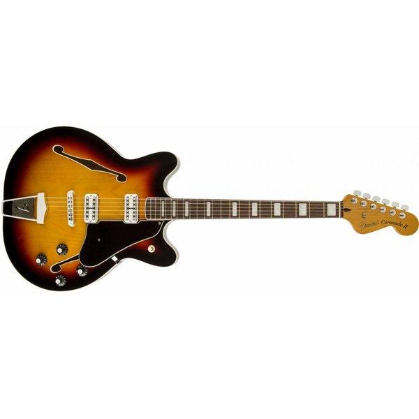 Fender Coronado Guitar, Rosewood Fingerboard, 3-Color Sunburst