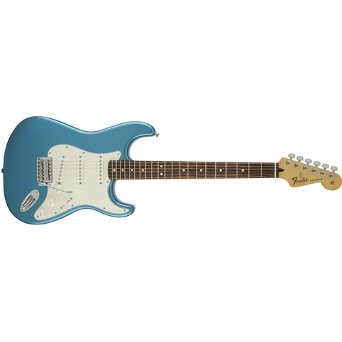 Standard Stratocaster, Rosewood Fingerboard, Lake Placid Blue
