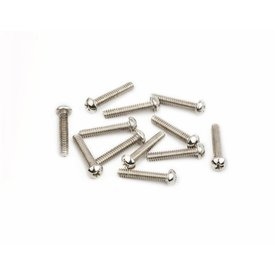 "Fender American Vintage Stratocaster Saddle Intonation Screws 4-40 X 5/8"", Nickel (12)"