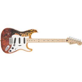 Fender Special Edition David Lozeau Art Stratocaster, Maple Fingerboard, Tree Of Life