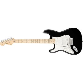 Fender Standard Stratocaster Left-Handed, Maple Fingerboard, Black
