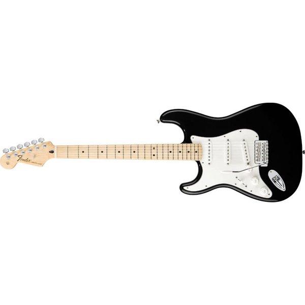 Fender Standard Stratocaster Left-Handed, Maple Fingerboard, Black