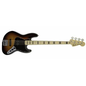 Fender Geddy Lee Jazz Bass, Maple Fingerboard, 3-Color Sunburst