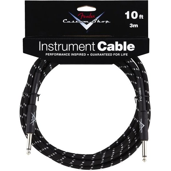 Fender Fender Custom Shop Performance Series Cable, 10', Black