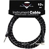 Fender Custom Shop Performance Series Cable, 10', Black, Angled