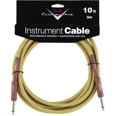 Fender Custom Shop Performance Series Cable, 10', Tweed