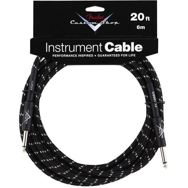 Fender Fender Custom Shop Performance Series Cable, 20', Black