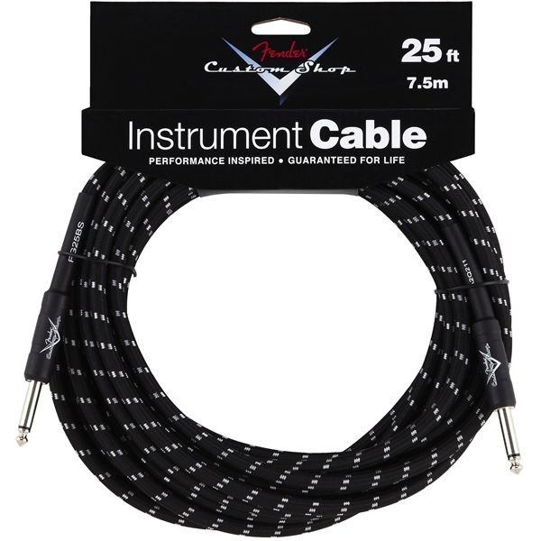 Fender Fender Custom Shop Performance Series Cable, 25', Black