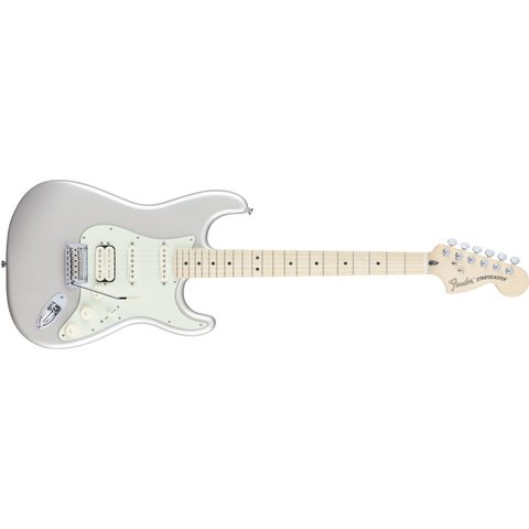 Fender Deluxe Strat HSS Maple Neck Blizzard Pearl