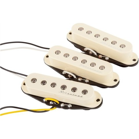 Fender Hot Noiseless Strat Pickups, (3)