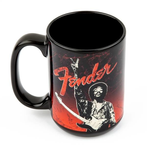 Fender Fender Jimi Hendrix Collection Peace Sign Mug
