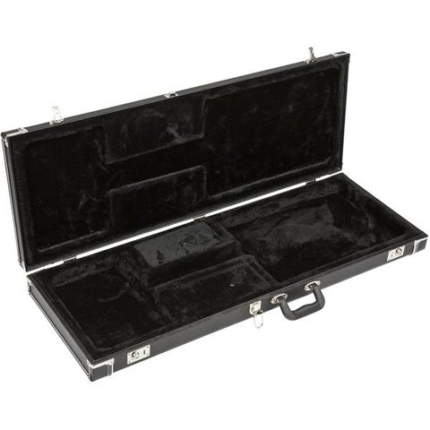Fender Pro Series Stratocaster/Telecaster Case Black w/ Black Acrylic Interior