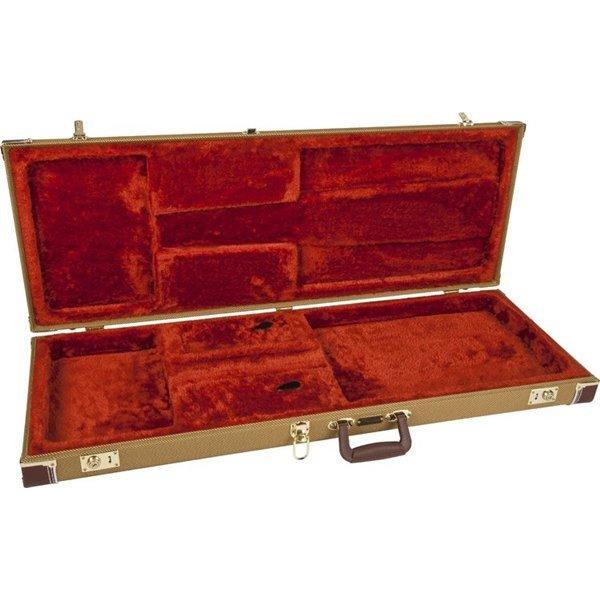 Fender Fender Pro Series Stratocaster/Telecaster Case Tweed with Orange Plush Interior