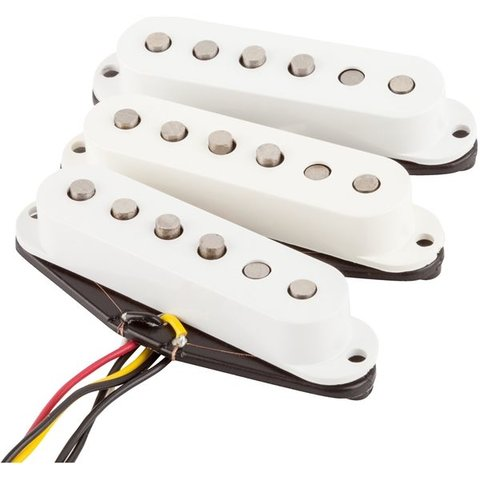 Fender Tex-Mex Strat Pickups, (3)