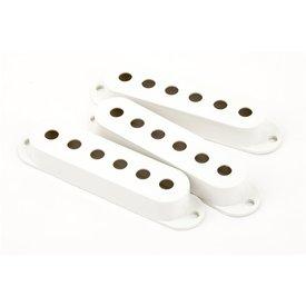Fender Pickup Covers, Stratocaster White (3)