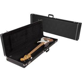 Fender G&G Standard Precision/Jazz Bass Hardshell Case, Left Handed, Black with Black Acrylic Interior