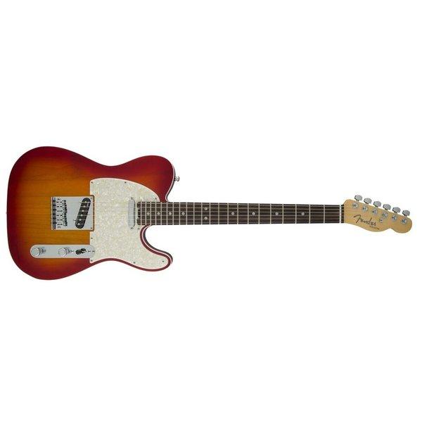 Fender American Elite Telecaster, Rosewood Fingerboard, Aged Cherry Burst