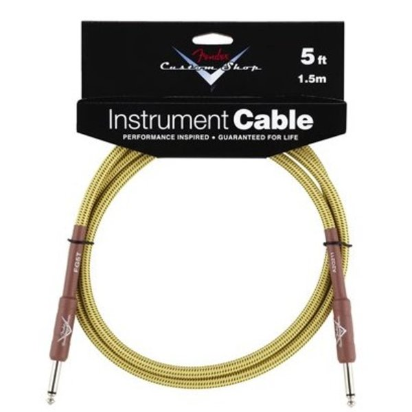 Fender Fender Custom Shop Performance Series Cable, 5', Tweed
