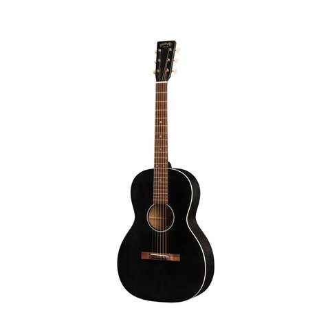 Martin 00-17S Black Smoke Lefty w/ Hard Case