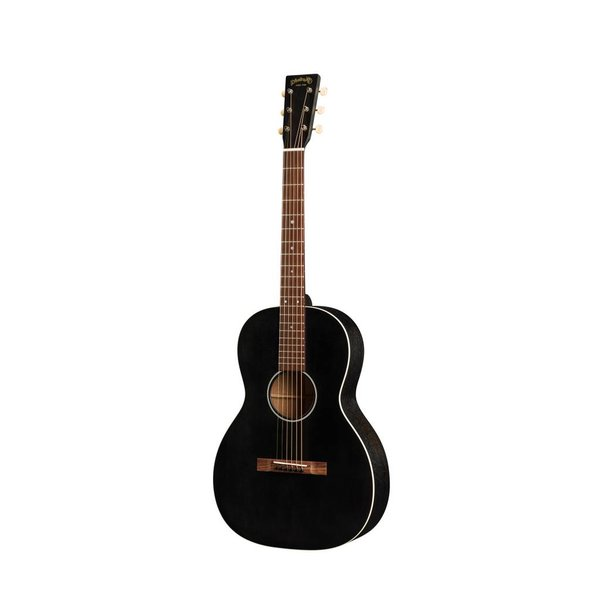 Martin Martin 00-17S Black Smoke Lefty w/ Hard Case