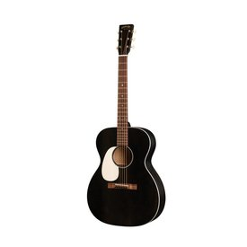 Martin Martin 000-17 Black Smoke Lefty w/ Hard Case