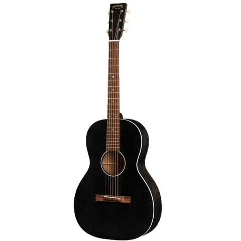 Martin 00-17SE Black Smoke Lefty w/ Hard Case
