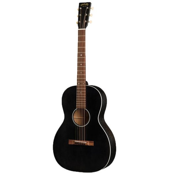 Martin Martin 00-17SE Black Smoke Lefty w/ Hard Case