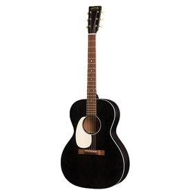 Martin Martin 00L-17E Black Smoke Lefty w/ Hard Case