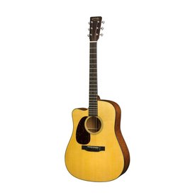 Martin Martin DC-18E Lefty Standard Series w/ Hard Case