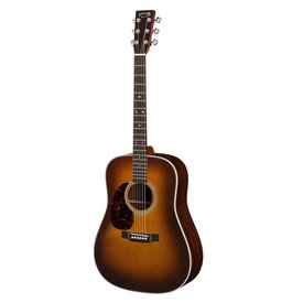 Martin Martin HD-28 Ambertone Lefty Standard Series w/ Hard Case