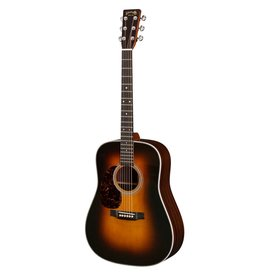 Martin Martin HD-28 Sunburst Lefty Standard Series w/ Hard Case