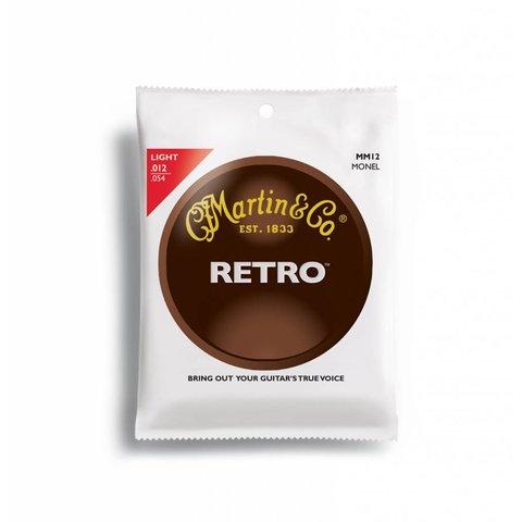 Martin Strings MM12, Retro, 6 Str, Light, Monel Wd