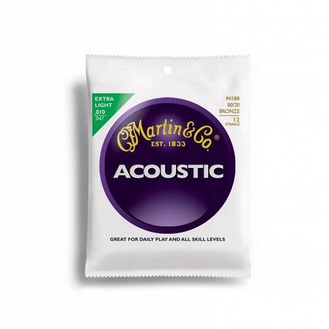 Martin, 12 String, Extra Light, 80/20
