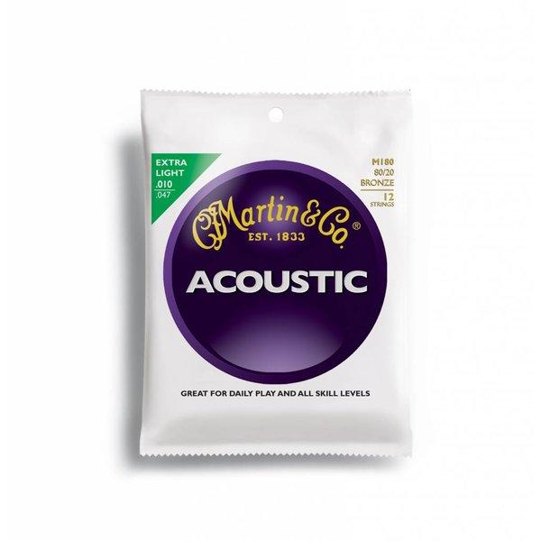 Martin Martin, 12 String, Extra Light, 80/20