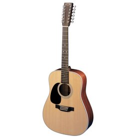 Martin Martin D12-28 Lefty Standard Series w/ Hard Case