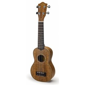 Lanikai Lanikai CMTU-S All Hawaiian Curly Mango TunaUke Equipped Soprano Ukulele