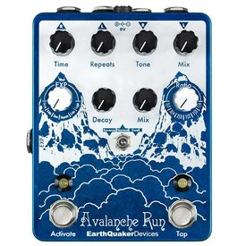 EarthQuaker Devices Earthquaker Devices Avalanche Run Stereo Delay & Reverb with Tap Tempo