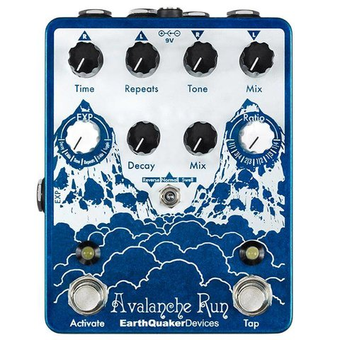Earthquaker Devices Avalanche Run Stereo Delay & Reverb with Tap Tempo