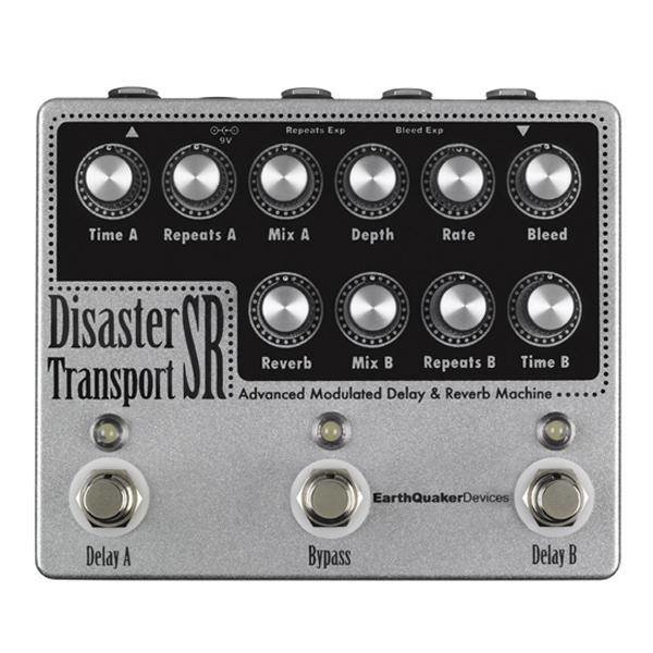 EarthQuaker Devices Earthquaker Devices Disaster Transport SR Advanced Mod Delay & Reverb Machine